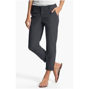 Caslon Grey Chino Ankle Pants